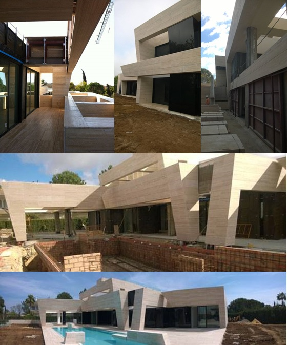Grupo coliseum fachada ventilada en piedra natural urb - Fachada ventilada piedra natural ...